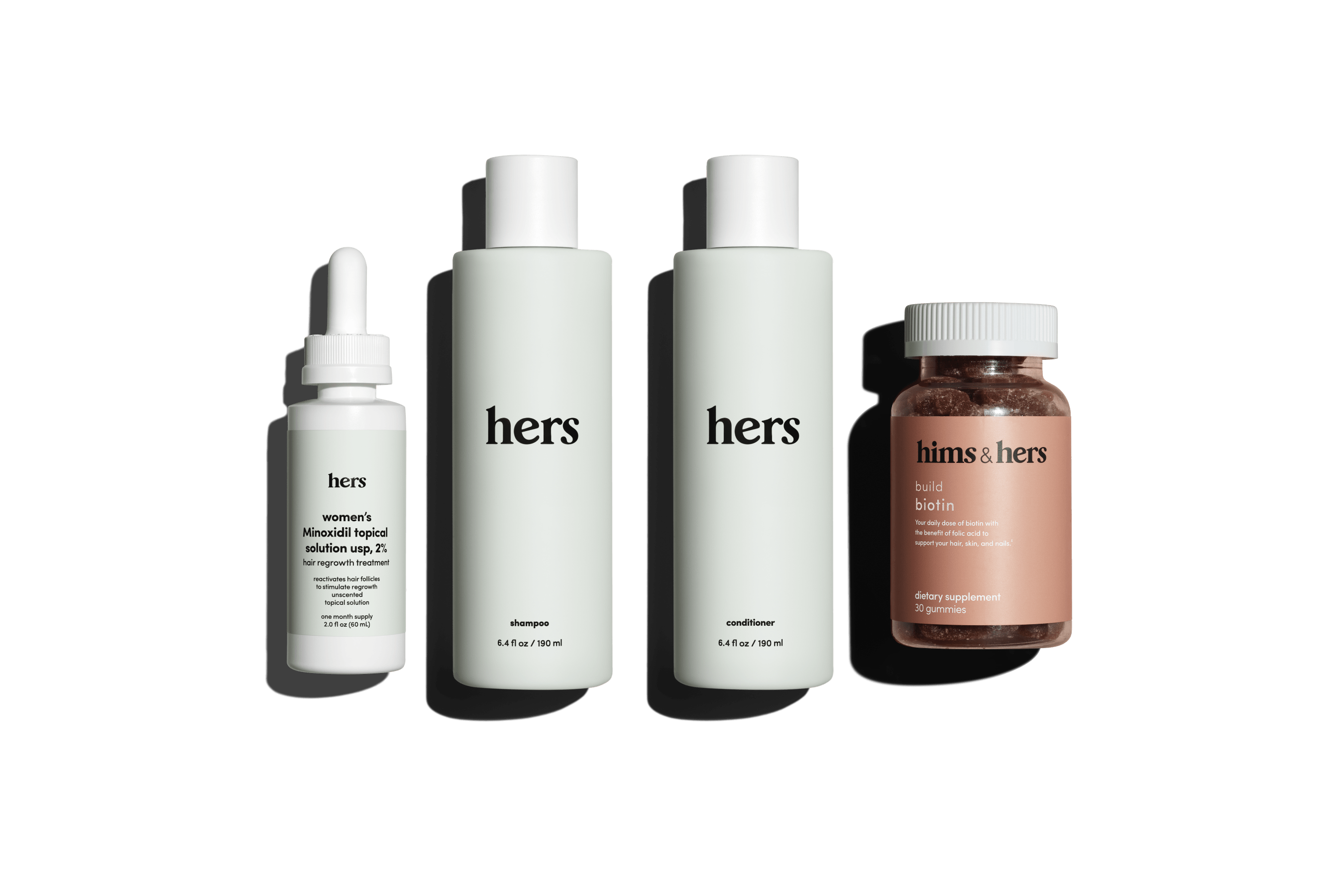 The complete hair kit